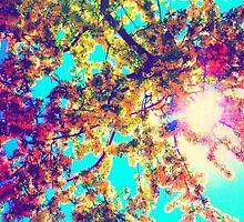 psychedelic sun by ShellyKay