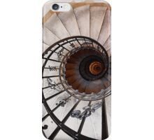 Spiral Staircase II, St Stephen's Basilica, Budapest iPhone Case/Skin