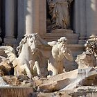 Trevi Fountain - Detail by inglesina