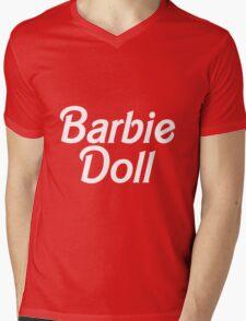 Barbie Doll Mens V-Neck T-Shirt