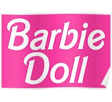 Barbie Doll Poster