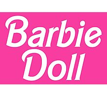 Barbie Doll Photographic Print