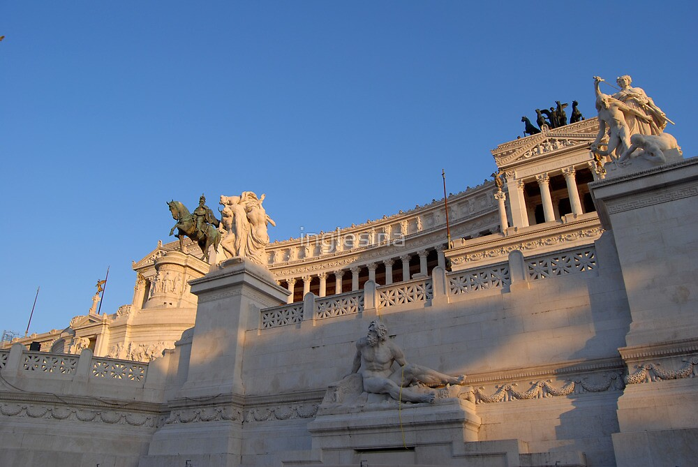 Monument to Vittorio Emanuele - Detail by inglesina