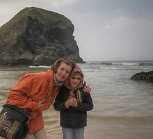 With my little girl by SylviaHardy