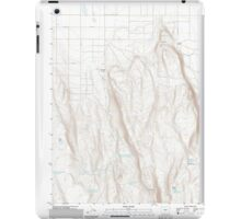 USGS Topo Map Oregon Fandango Canyon 20110829 TM iPad Case/Skin