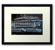 International Truck Framed Print