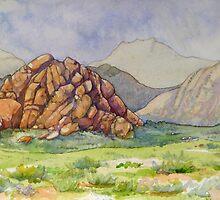 Mountain Near Mini Gobi by Andrea Gabriel