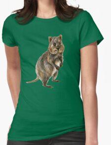 Cute little quokka Womens Fitted T-Shirt