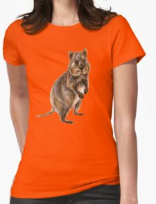 Cute little quokka Womens Fitted T-Shirt