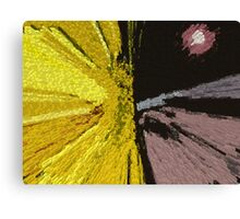 Competing Suns Canvas Print