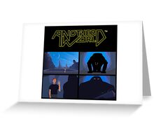 Another World #01 Greeting Card