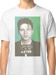 Sinatra Mug Shot Classic T-Shirt