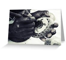 Gifted Hands Greeting Card