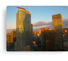Montreal mornings Canvas Print