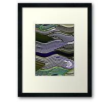 Fields of Steel Framed Print