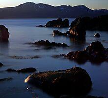 Blue sunset by Frank Olsen