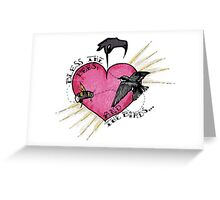 Madness It Must Be Love Greeting Card