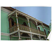 Balcony - Penang Poster