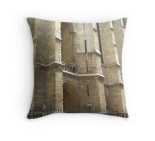 Between the Buttresses - Paris Throw Pillow