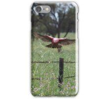 Flying Galah iPhone Case/Skin