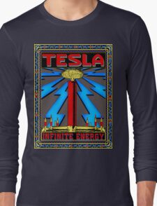 TESLA COIL - INFINITE ENERGY Long Sleeve T-Shirt