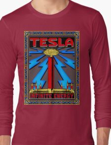TESLA COIL - INFINITE ENERGY Long Sleeve T-Shirt