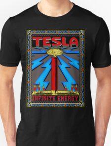 TESLA COIL - INFINITE ENERGY Unisex T-Shirt