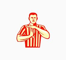 Basketball Referee Technical Foul Retro T-Shirt