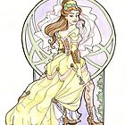 Steampunk Belle Nouveau by Karen  Hallion