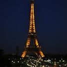 The Eiffel at Night by Gayle Dolinger