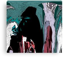 Hooded Figures Canvas Print