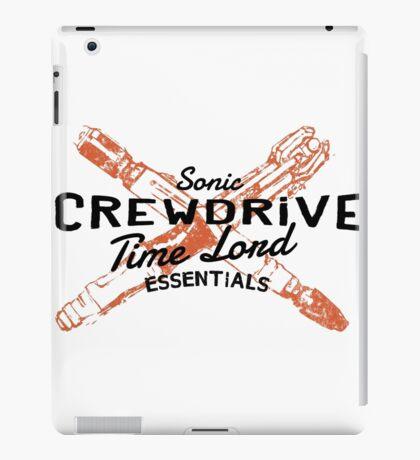 Time Lord Essentials - Sonic Screwdriver iPad Case/Skin