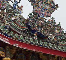 Khoo Kongsi Temple - Penang by Colin  Ewington