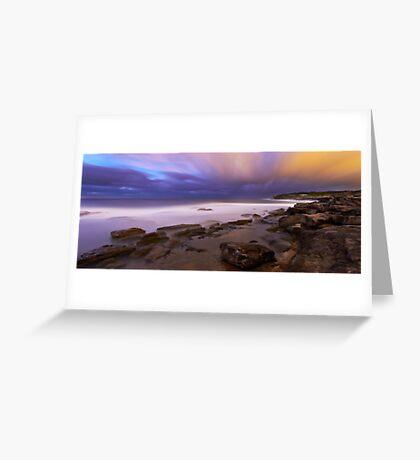 Cloud Vs Cloud Greeting Card