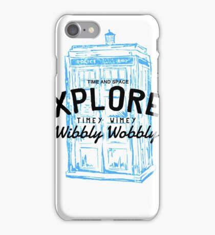 The Doctor - Time and Space Explorer iPhone Case/Skin