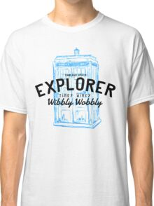The Doctor - Time and Space Explorer Classic T-Shirt