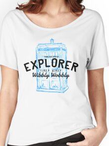 The Doctor - Time and Space Explorer Women's Relaxed Fit T-Shirt