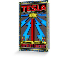 Tesla Coil Greeting Card