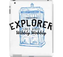The Doctor - Time and Space Explorer iPad Case/Skin