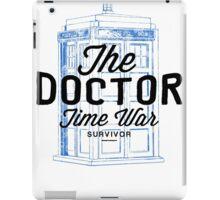 The Doctor - Time War Survivor iPad Case/Skin