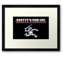 Ghosts 'n Goblins #01 Framed Print