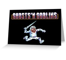 Ghosts 'n Goblins #01 Greeting Card