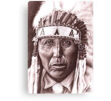 Cheyenne Chief Canvas Print