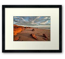 Ocean Escape Framed Print