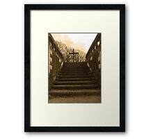 Without Saying A Word Framed Print