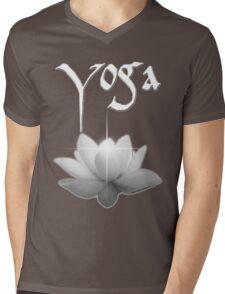 Yoga Mens V-Neck T-Shirt
