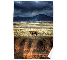 Gorges Cow Poster