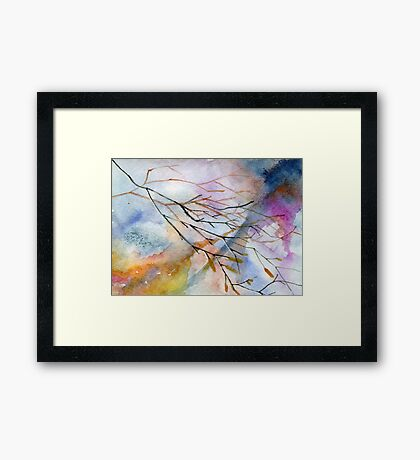 Branches and twigs  Framed Print