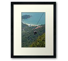 Cable Car - Langkawi Framed Print