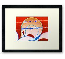 Pipeyard Framed Print